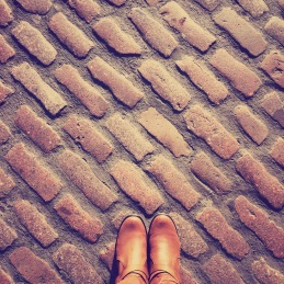 Cobblestones in Covent Garden